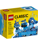 LEGO Classic Creative Blue Bricks Kids' Building Kit Starter Set