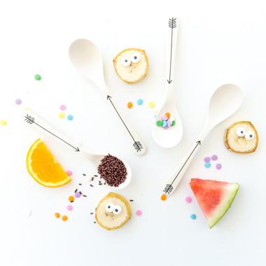 YoungLUX Bamboo Fibre Spoons
