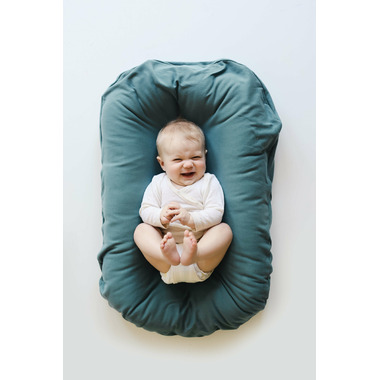 Snuggle Me Organic Lounger with Cover Moss