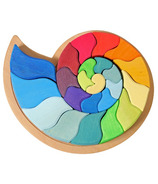 Grimm's Large Figurative Puzzle Ammonite Snail