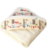Oko Creations Organic Hooded Baby Bath Towel Enchanted Forest