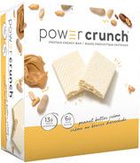 Barre énergétique protéinée Power Crunch Crème au beurre de cacahuète