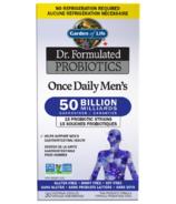 Garden of Life Formule probiotique médicinale Once Daily Men's