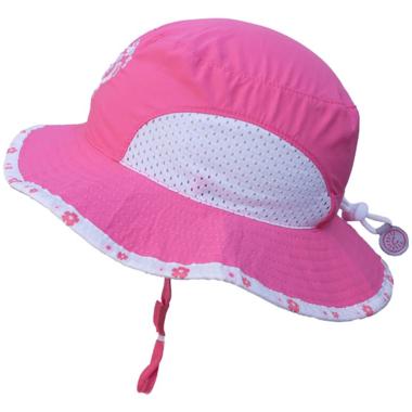 Calikids Bucket Hat with Heart Pink Lemonade