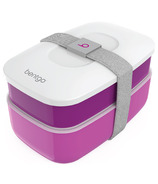 Bentgo Classic 2-Tier Lunch Container Purple