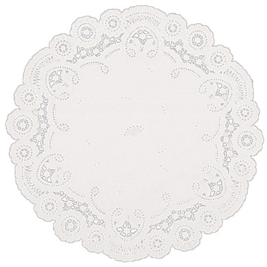 8 Inch White Paper Lace Doilies