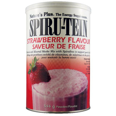 Nature\'s Plus Spiru-Tein Strawberry Flavour Shake Mix