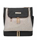 Petunia Pickle Bottom Pivot Diaper Bag Pack Sand/Black