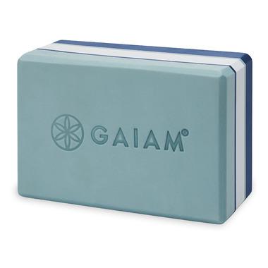 Gaiam Studio Select Tri-Colour Yoga Block