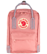 Fjallraven Kanken Backpack Pink Long Stripes