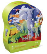 Crocodile Creek 36-Piece Puzzle Wild Safari