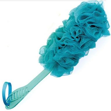 Upper Canada Soap Back Scrubbie Blue