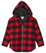 Hatley Buffalo Plaid Kids' Heritage Hooded Full Zip Lined Jacket