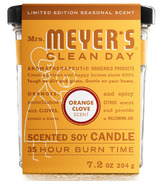 Mrs. Meyer's Clean Day Large Soy Candle Orange Clove