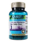 Multivitamines et minéraux Her Daily One pour les femmes de 50ans et plus de Quest Mature