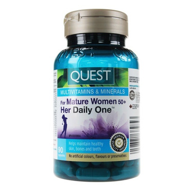 Quest Mature Women 50+ Her Daily One Multivitamins & Minerals