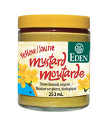 Eden Organic Yellow Stoneground Mustard