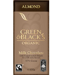 Green & Black's Organic Milk Chocolate Almond