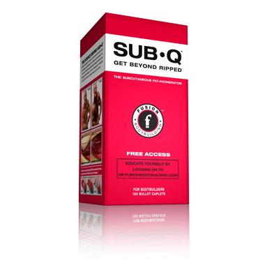 Fusion Bodybuilding SUB-Q Fat Burner