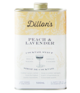 Dillon's Small Batch Distillers Peach & Lavender Syrup