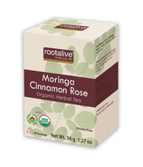 Rootalive Moringa Cinnamon Rose Tea