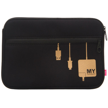 MYTAGALONGS Plug In Metallic Tech Organizing Pouch