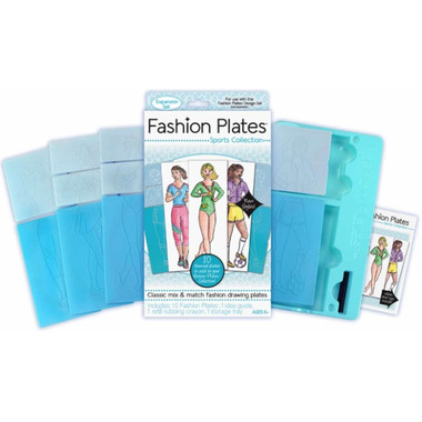 Fashion Plates Sports Expansion Set