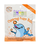 Aura Cacia Kids Cheering Foam Bath Sweet Orange & Tangerine