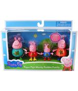 Jazwares Peppa Pig Muddy Puddles Family