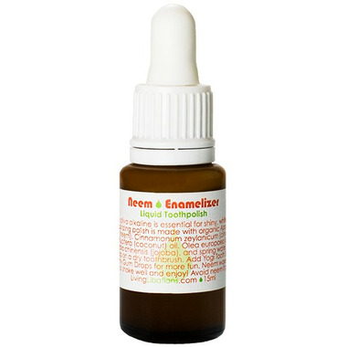 Living Libations Neem Enamalizer Liquid Tooth Polish