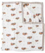 Little Unicorn Cotton Muslin Quilt Big Kid Bison