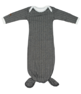 Juddlies Cottage Collection Organic Nightie Bear Black
