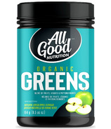 All Good Nutrition Organic Greens Apple Flavor