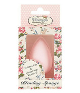 The Vintage Cosmetics Company Blending Sponge Infused with Vitamin E Pink
