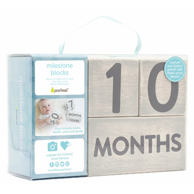 Pearhead Wooden Age Blocks Grey