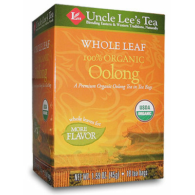 Uncle Lee\'s Whole Leaf Organic Oolong Tea