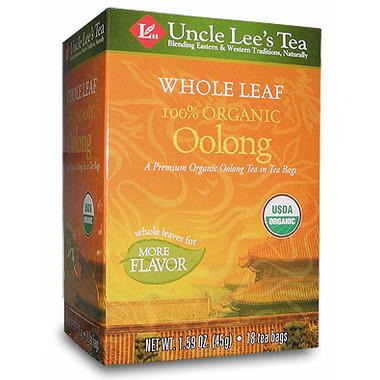 Uncle Lee\'s Whole Leaf Organic Oolong Tea
