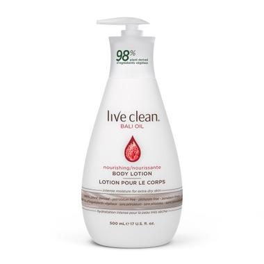 Live Clean Bali Oil Nourishing Body Lotion