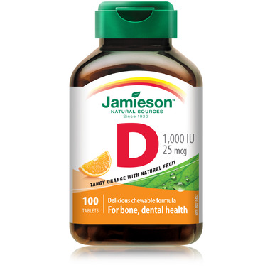 Jamieson Chewable Vitamin D