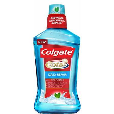 Colgate Total Daily Repair Mouthwash Fresh Mint