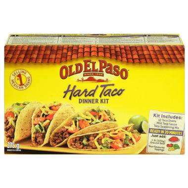 Old El Paso Hard Taco Dinner Kit