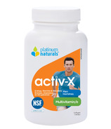 Platinum Naturals Multivitamin Activ-X for Active Men
