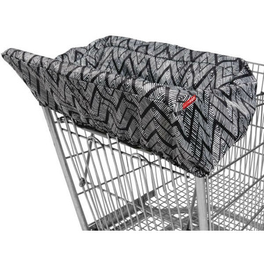 Skip Hop Take Cover Shopping Cart & High Chair Cover Zig Zag Zebra