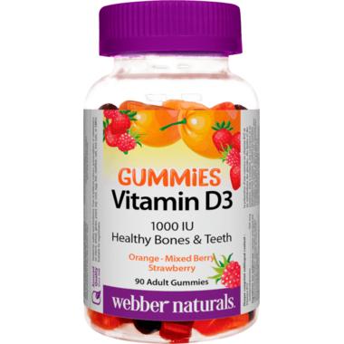 Webber Naturals Vitamin D3 1000 IU