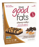 Love Good Fats Chewy Nutty Peanut Chocolatey Bar Case