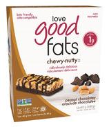 Love Good Fats Chewy Nutty Peanut Chocolatey Bar Case