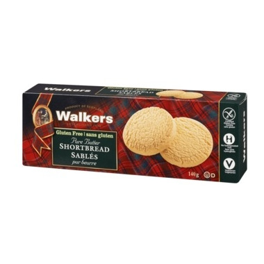 Walkers Gluten Free Shortbread Cookies