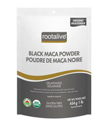 Rootalive Organic Gelatinized Black Maca Powder