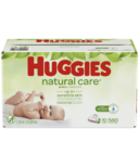 Huggies Natural Care Sensitive Unscented Baby Wipes 10 Pack