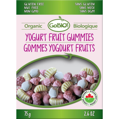 GoBIO! Organic Yogurt Fruit Gummies